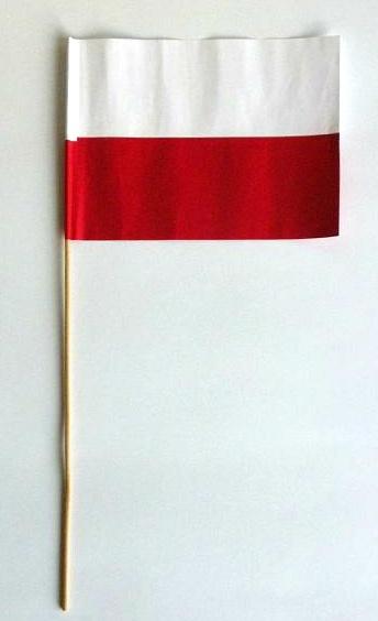 Cudowna Chorągiewka, Flaga biało-czerwona, papierowa - Stuły, szarfy WV54